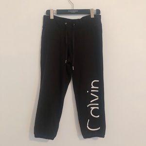 Calvin Klein fleece lined sweatpants XS PT
